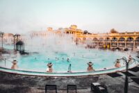 Szechenyi Baths // 15 Tips for Visiting The Budapest Thermal Baths