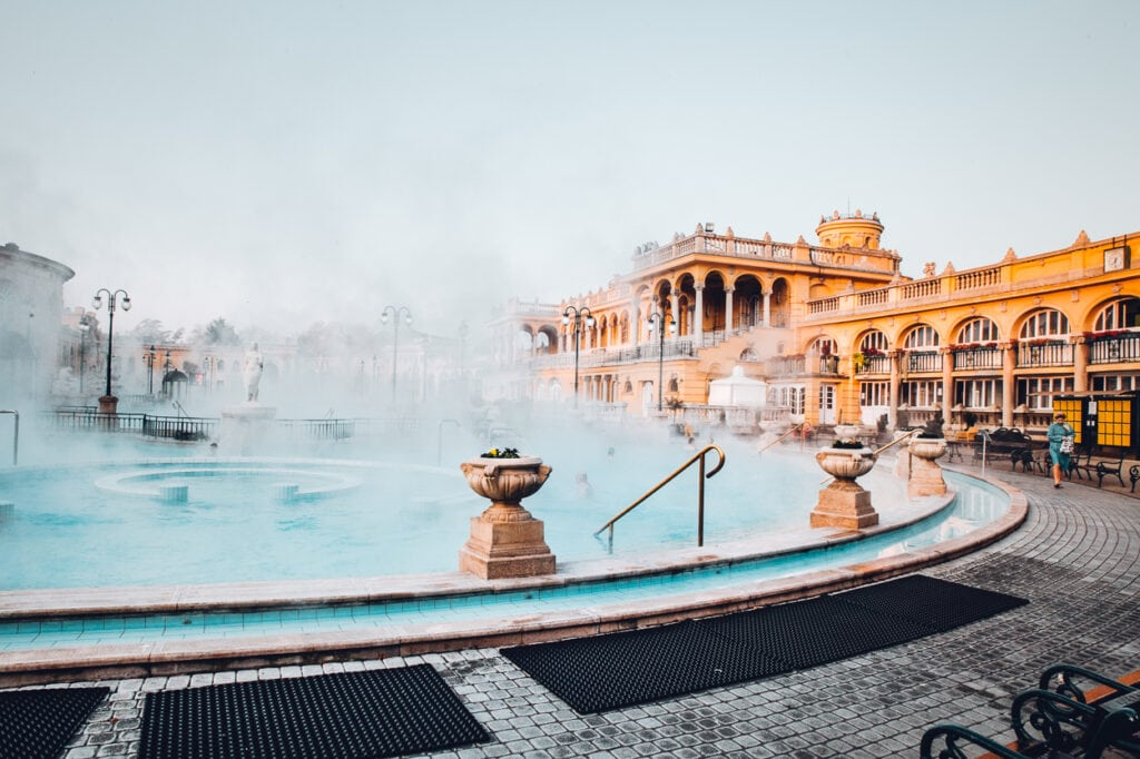 Szechenyi Outdoor Pools