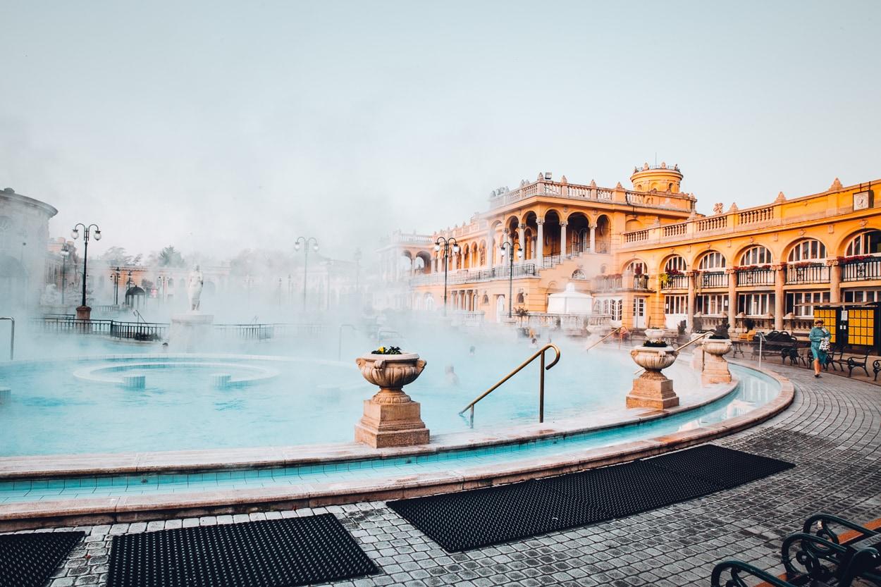 Budapest's Szechenyi Baths