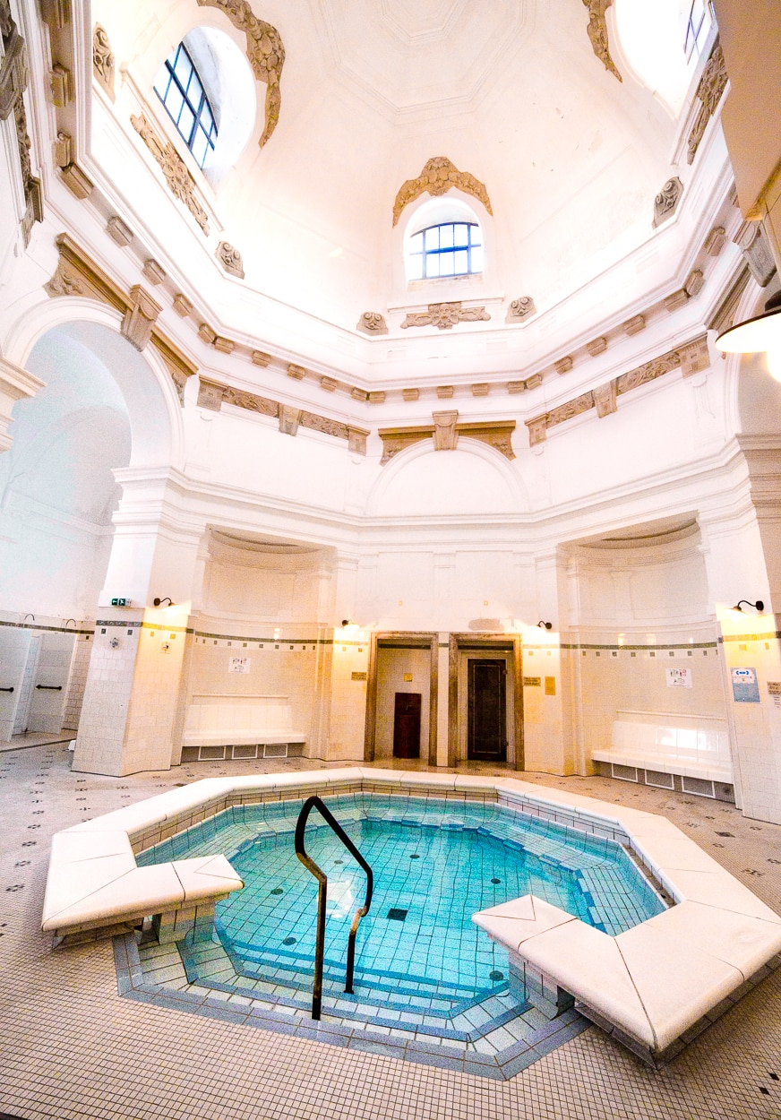 Szechenyi Indoor pools