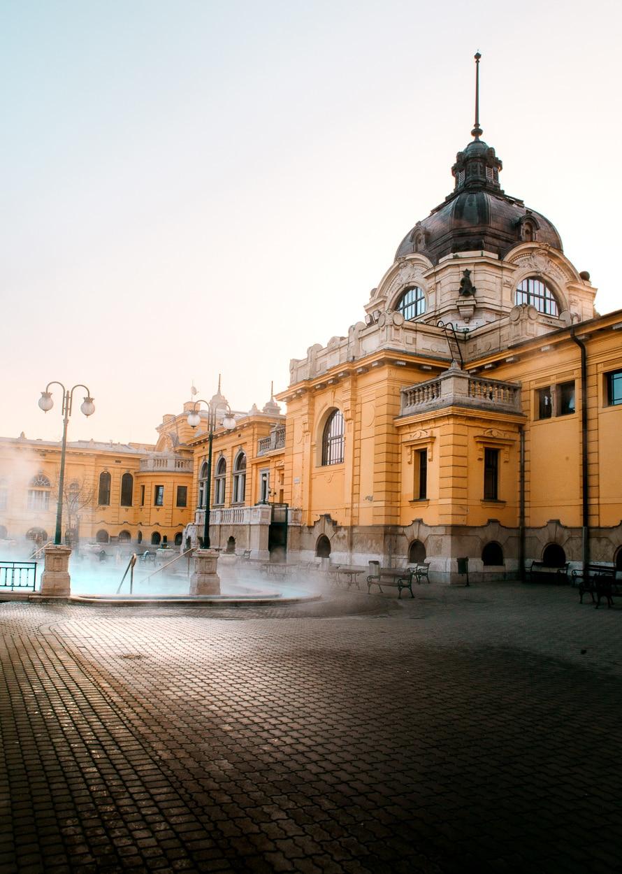 Budapest's Szechenyi Thermal Pools