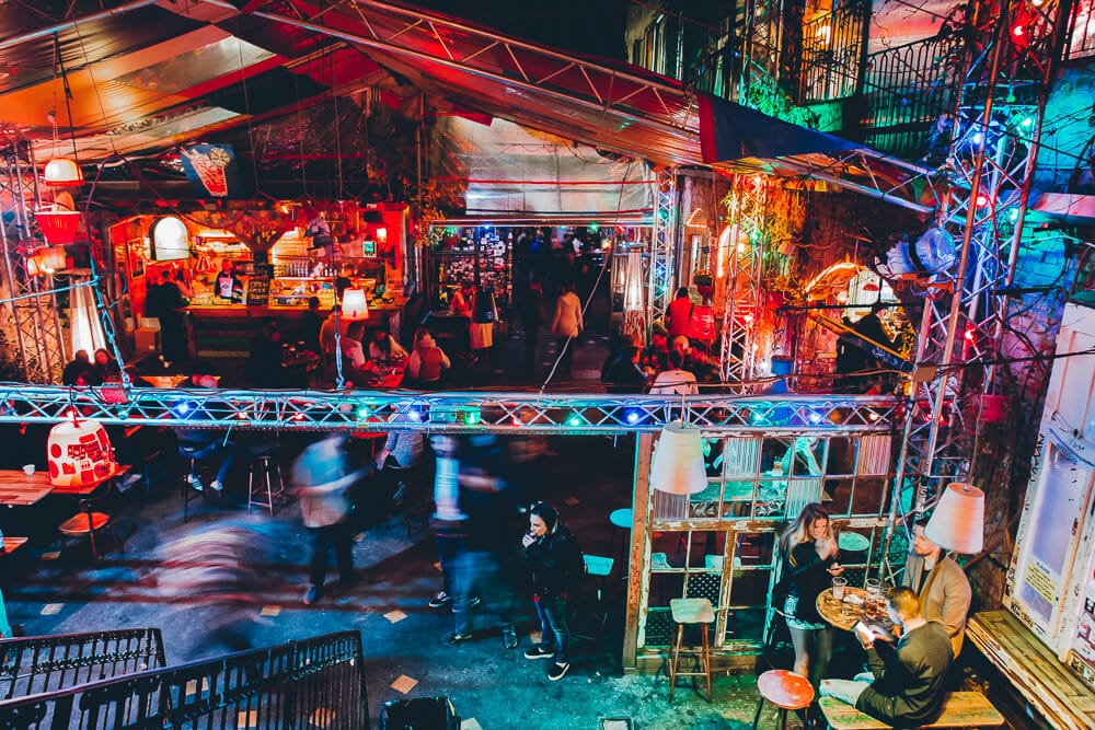 Szimpla Kert is the original Budapest ruin bar and it remains the most popular for a good reason. Keep reading for photos, tips for visiting and how to get there.