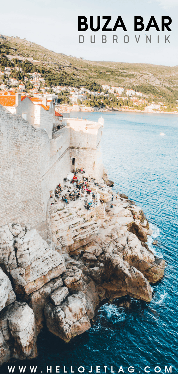 Dubrovnik Cliff Bar