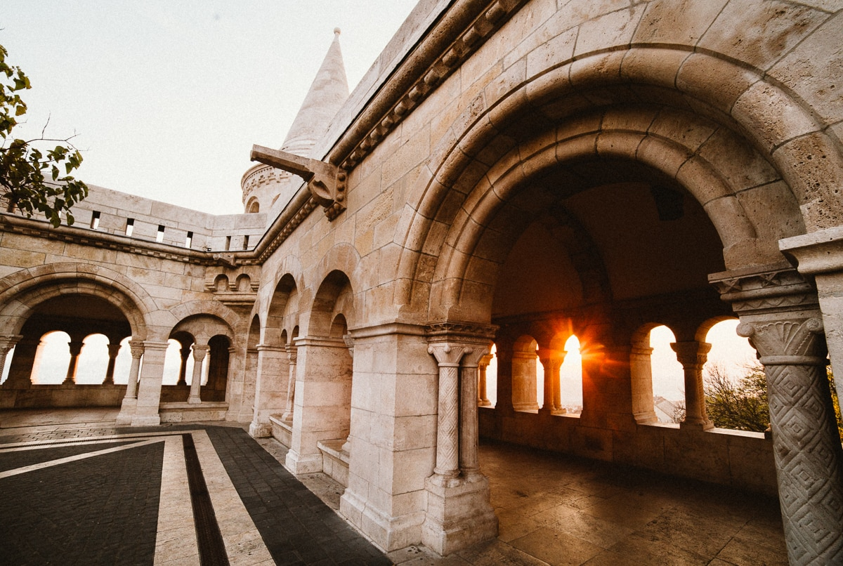 Fisherman's Bastion at Sunrise