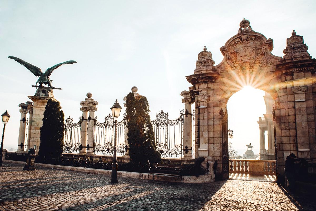 Buda Castle Gate