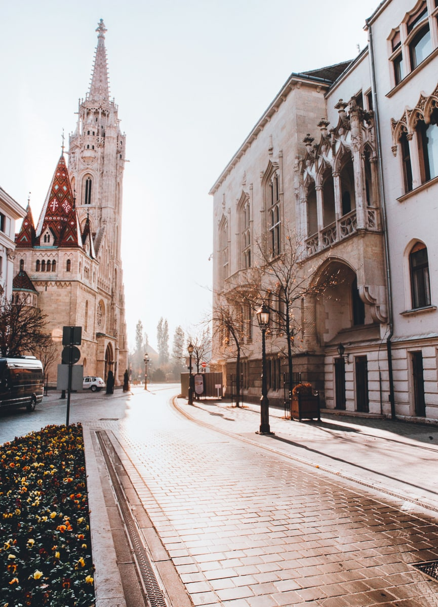 Castle Hill in Budapest