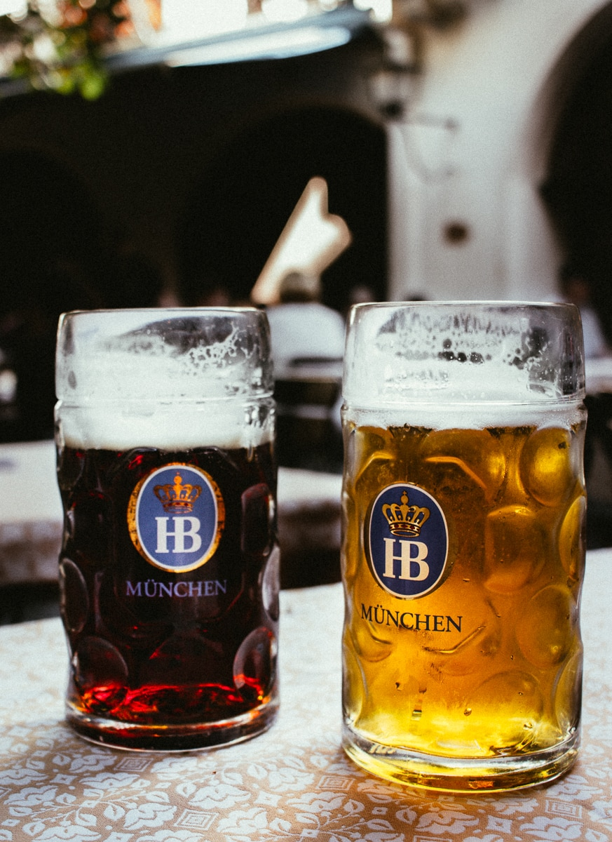 Hofbrau Beer in Munich