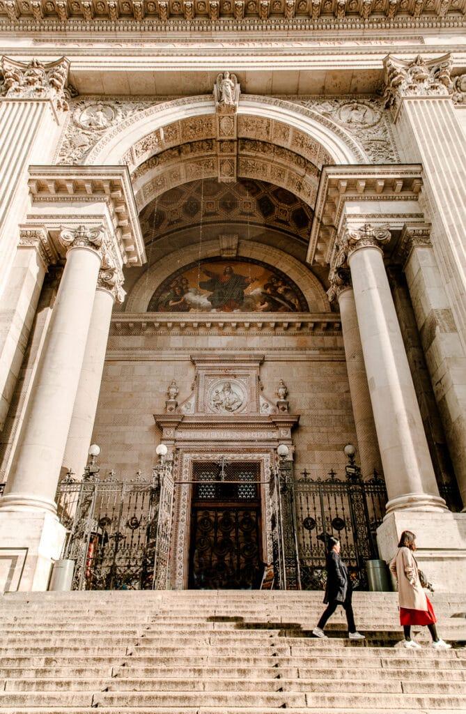 Exterior of St. Steven's Basilica