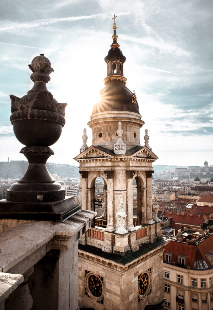 Panorama Tower at St. Stephen's Basilica