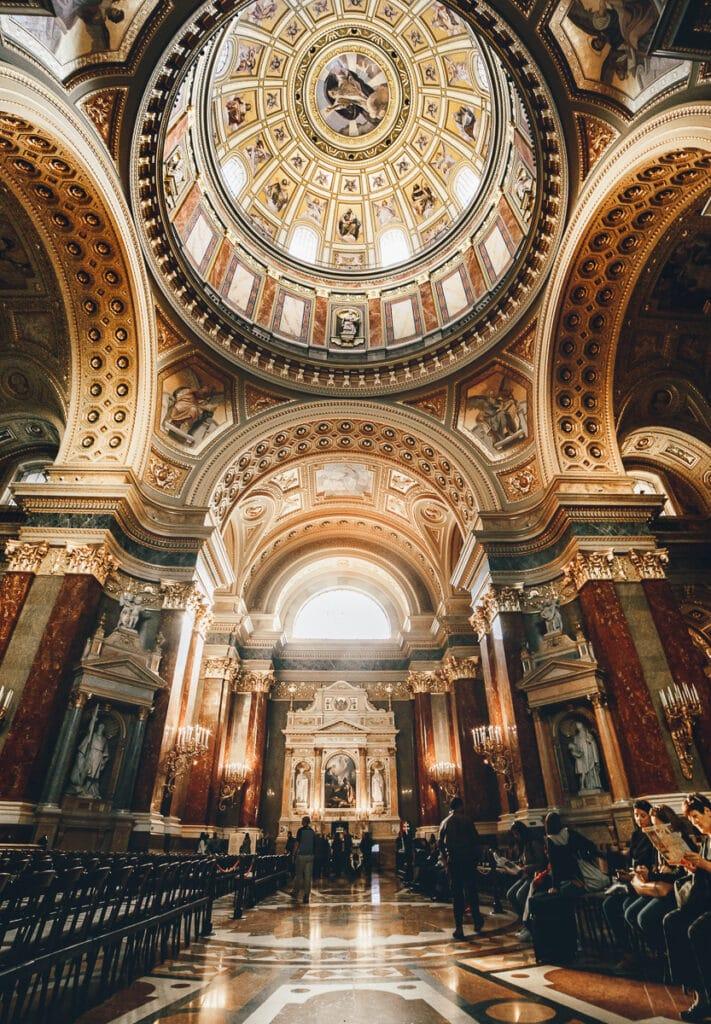 St. Steven's Basilica in Budapest, Hungary