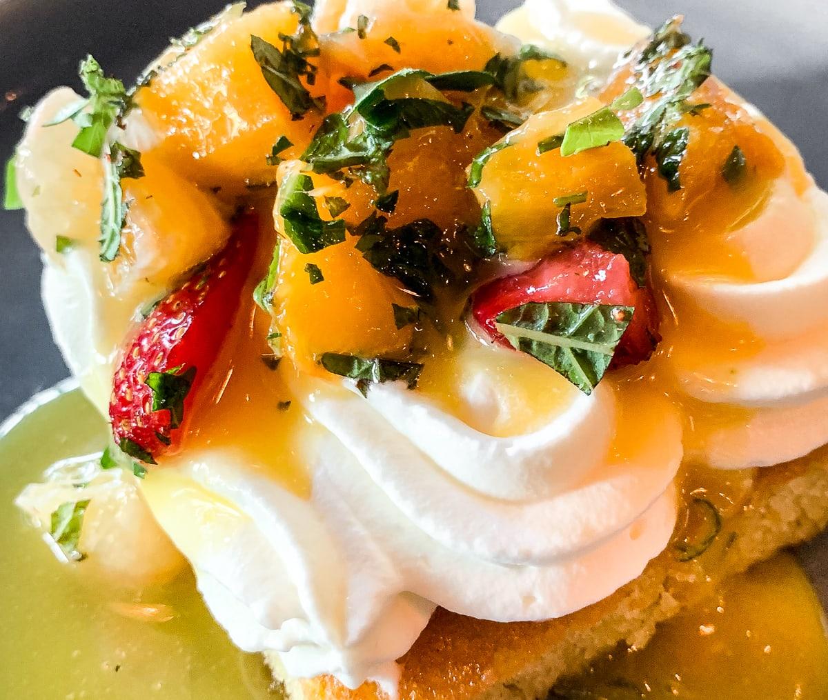 Olive Oil Cake at Zahav Restaurant