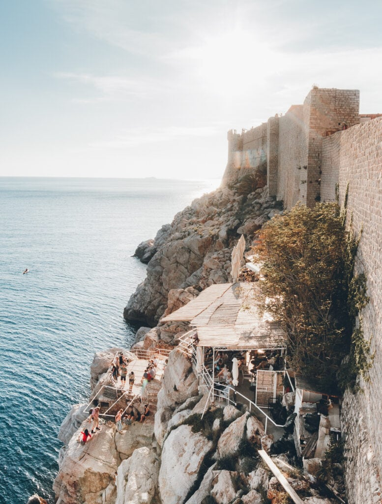 Buza Bar from the Dubrovnik Walls
