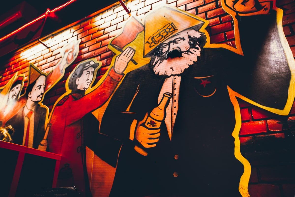 Red Ruin Pub in Budapest