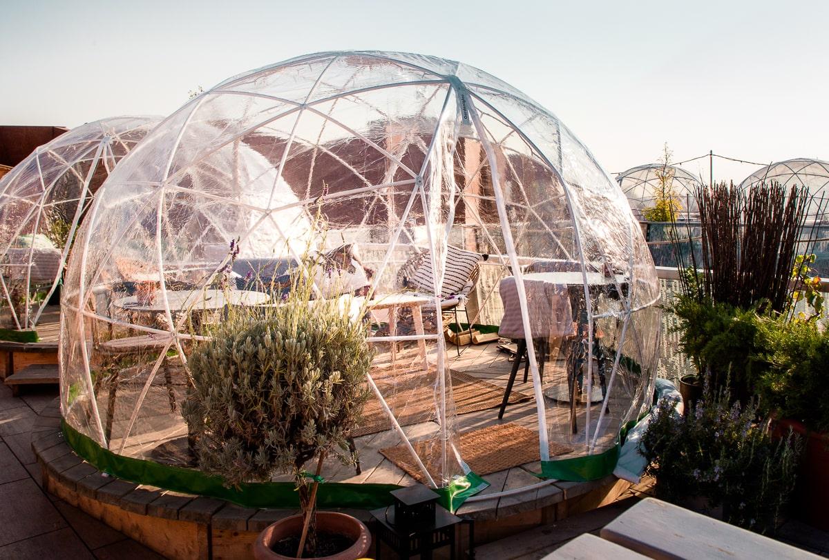 Igloo at Budapest's 360 Bar