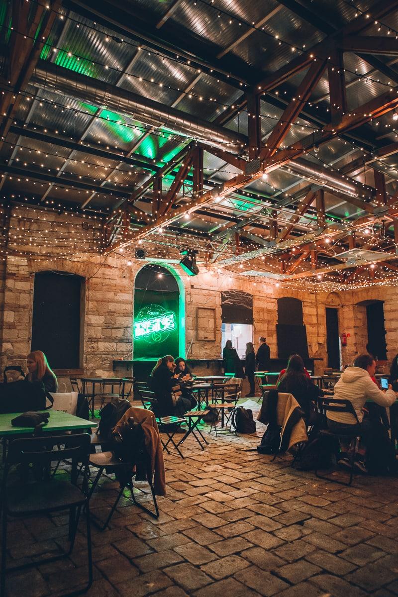 Anker't Ruin Bar in Budapest