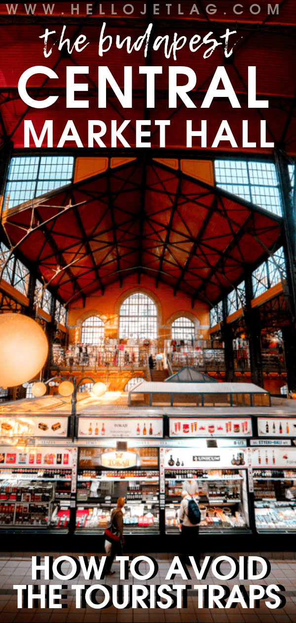Budapest's Central Market Hall
