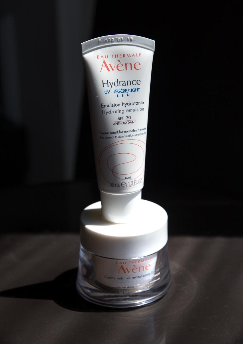 Avene Light Cream and Night Creme
