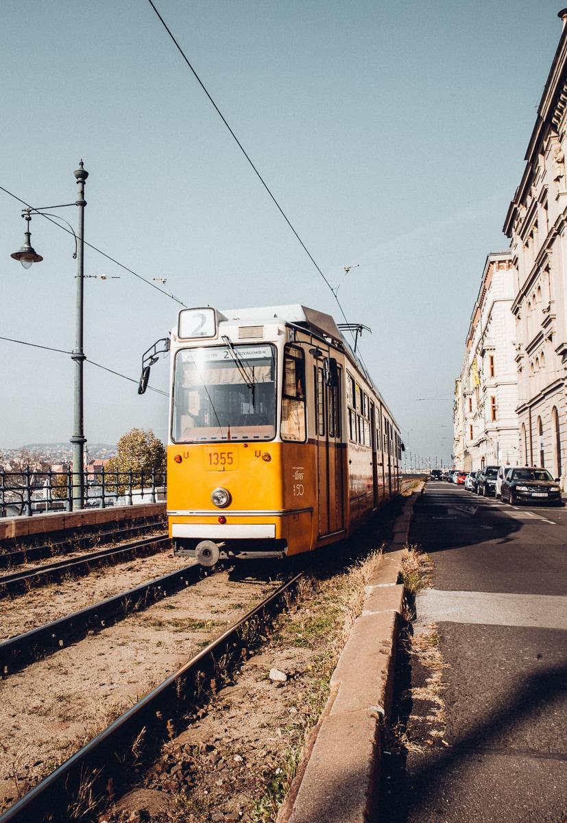 budapest tram line #2