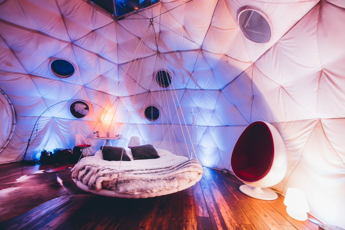 Igloo Hotel Room