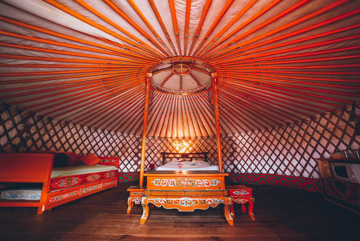 Yurt in Brittany France