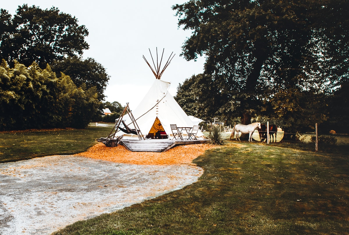 Native American Teepee in France
