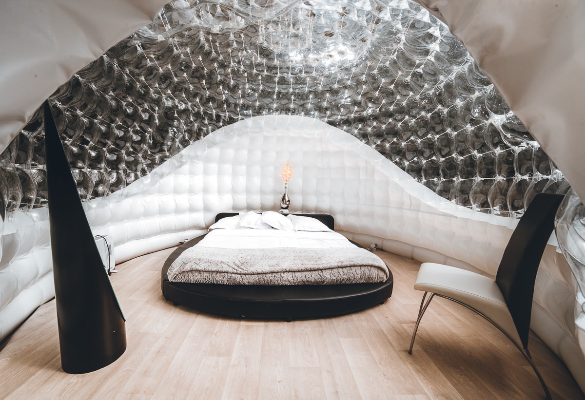 Bubble Hotel Room Suite