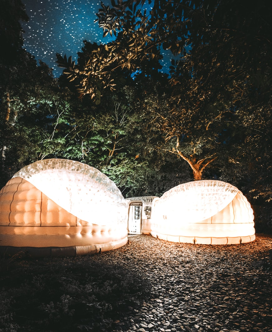 Bubble Hotel Camping in France