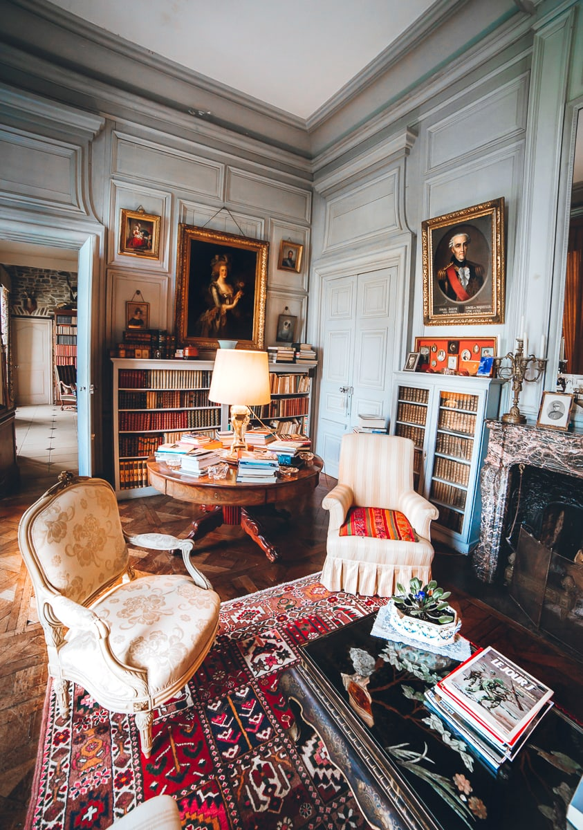 French Chateau Library