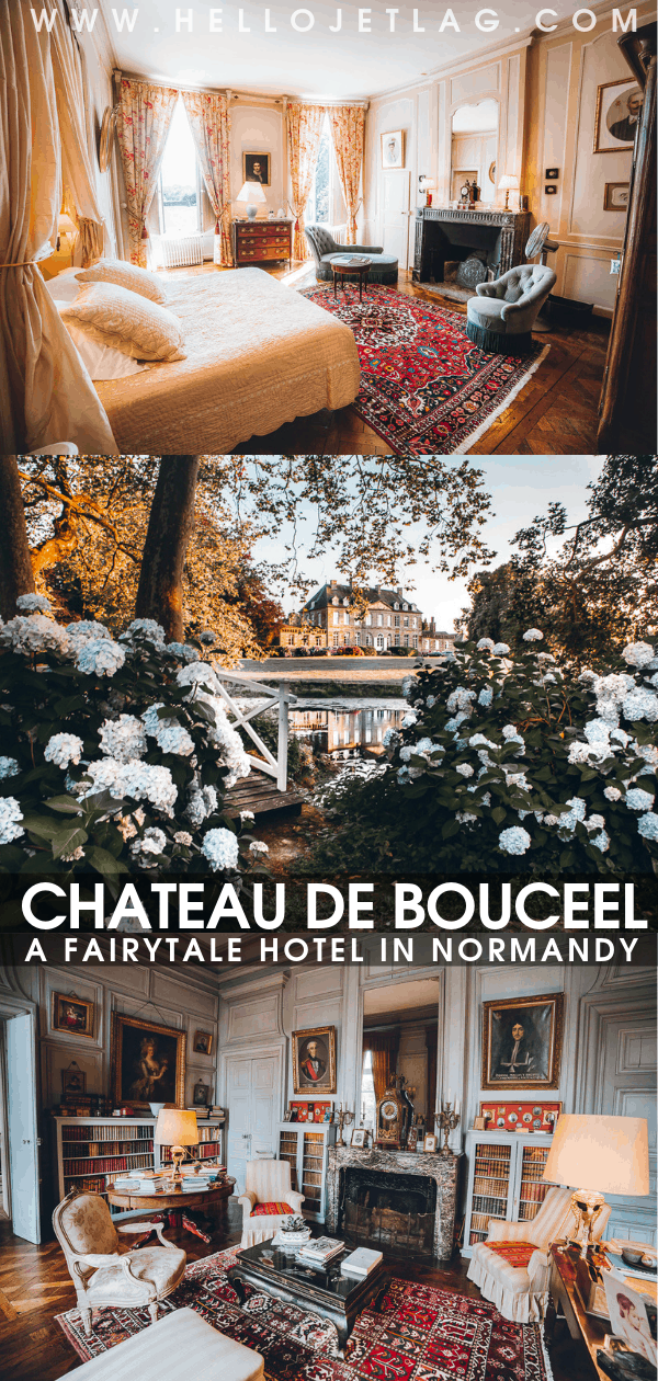Chateau de Bouceel Normandy