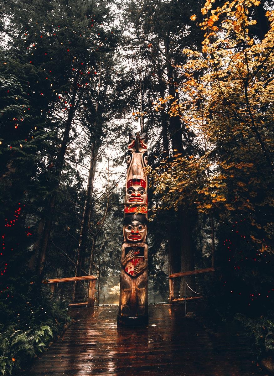Capilano Totem Poles