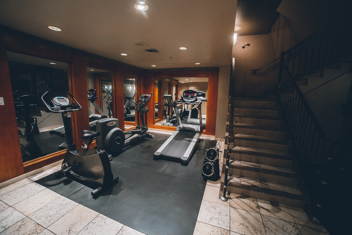 The Listel Hotel Fitness Center