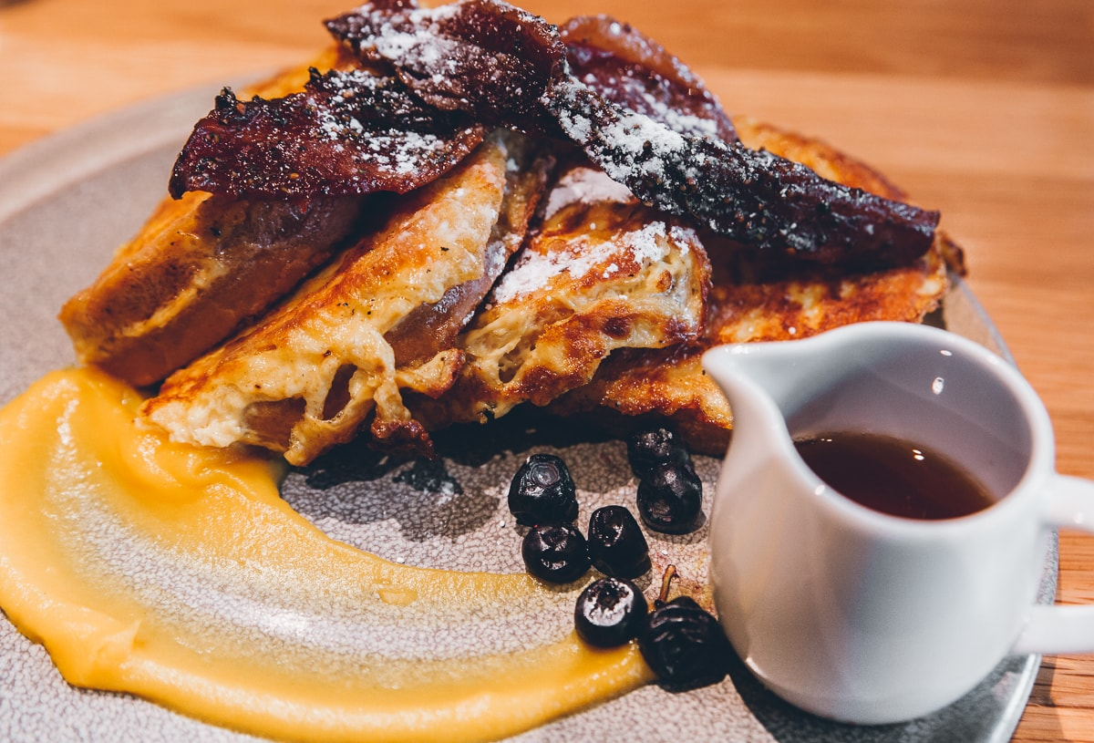 Vancouver Food Guide : Brioche French Toast at Forage