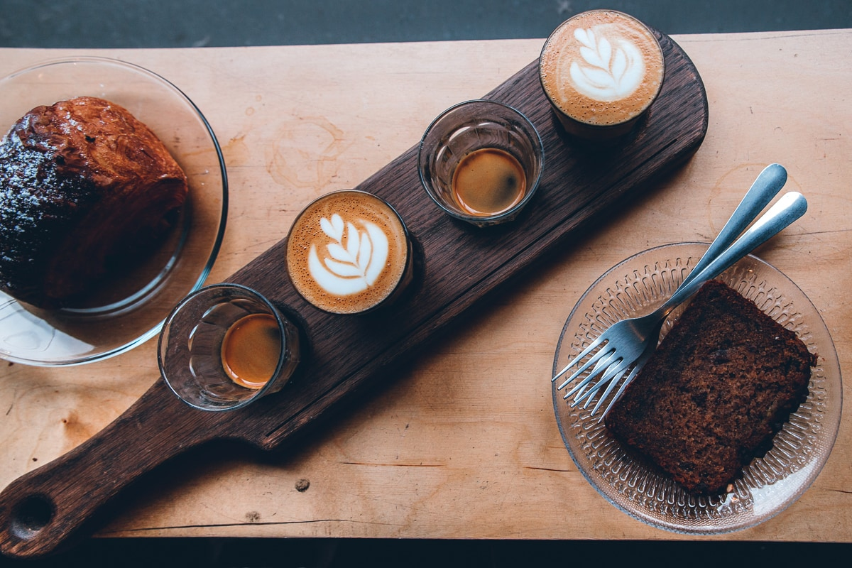 Revolver Coffee in Vancouver BC Gastown