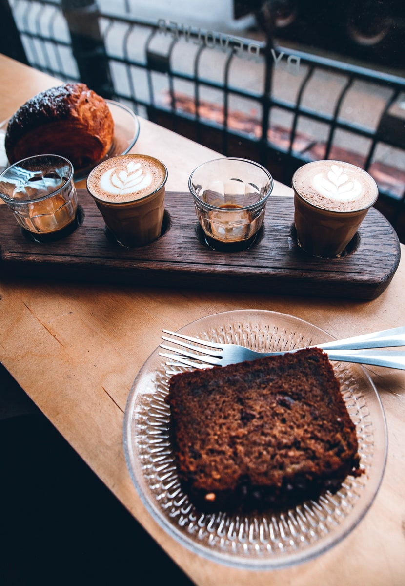 Revolver Coffee Shop Espresso Flight // Vancouver Food Guide