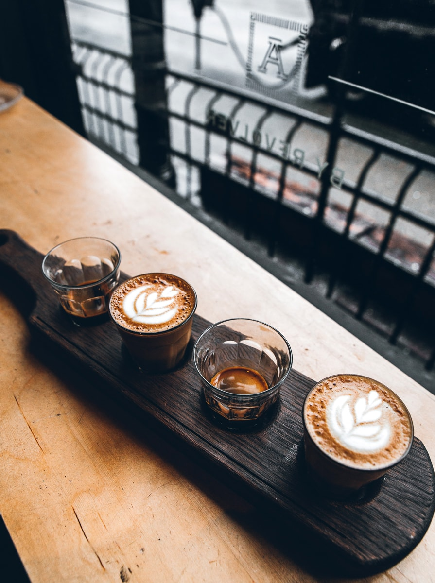 Revolver Coffee in Vancouver Gastown