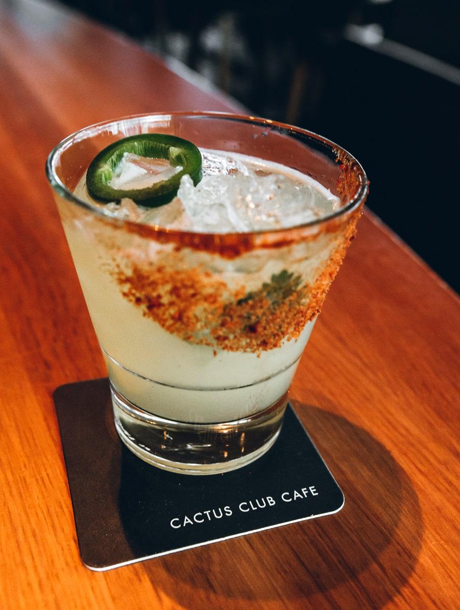 Cactus Club Margarita