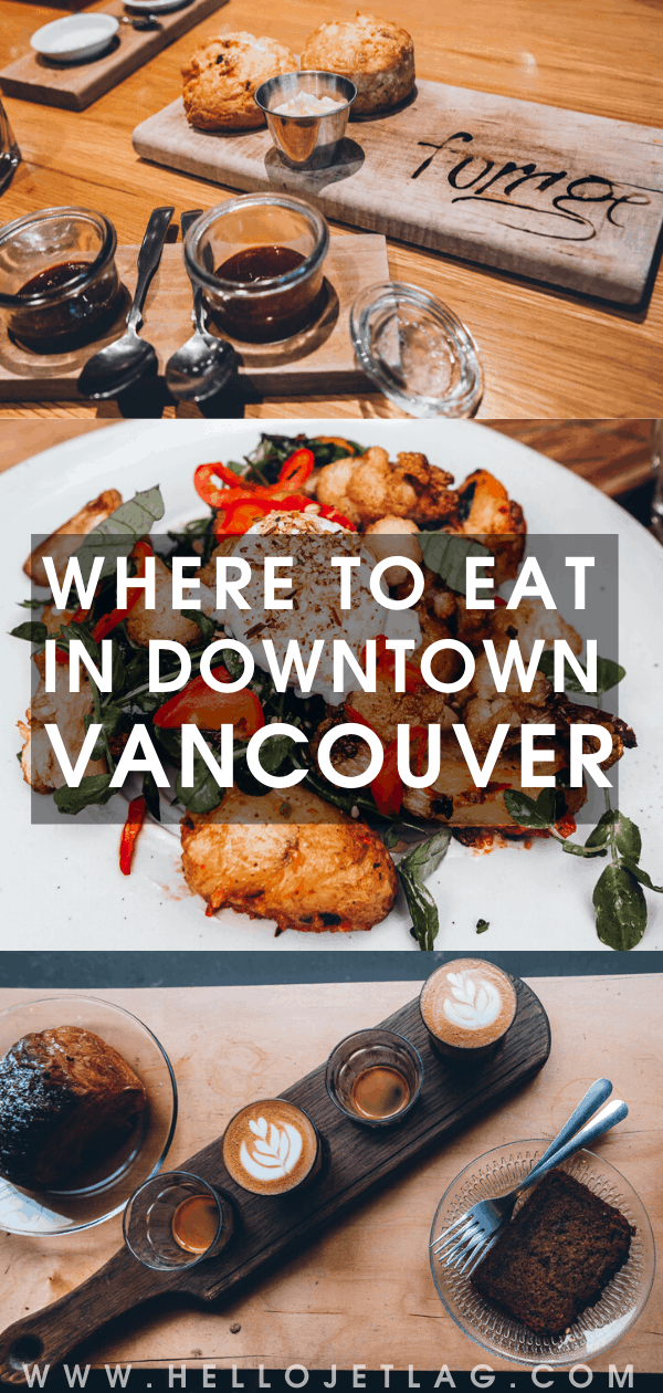 VANCOUVER BC RESTAURANTS AND COFFEE SHOPS