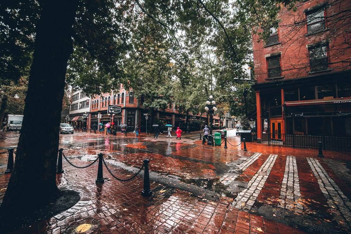 Gastown in Vancouver BC