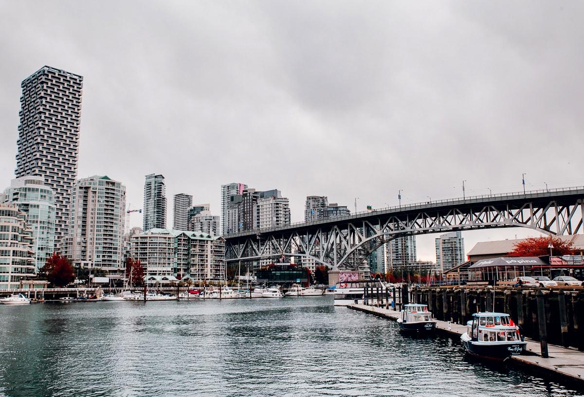 False Creek in Vancouver BC Canada