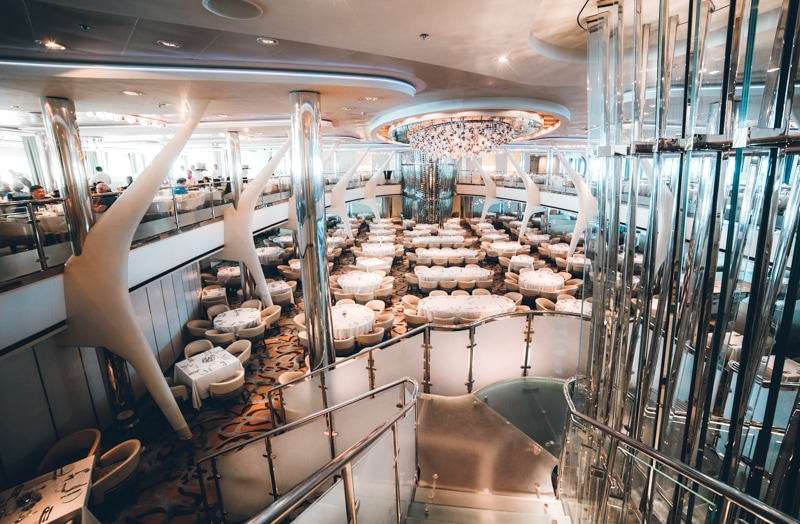 celebrity cruise moonlight sonata restaurant