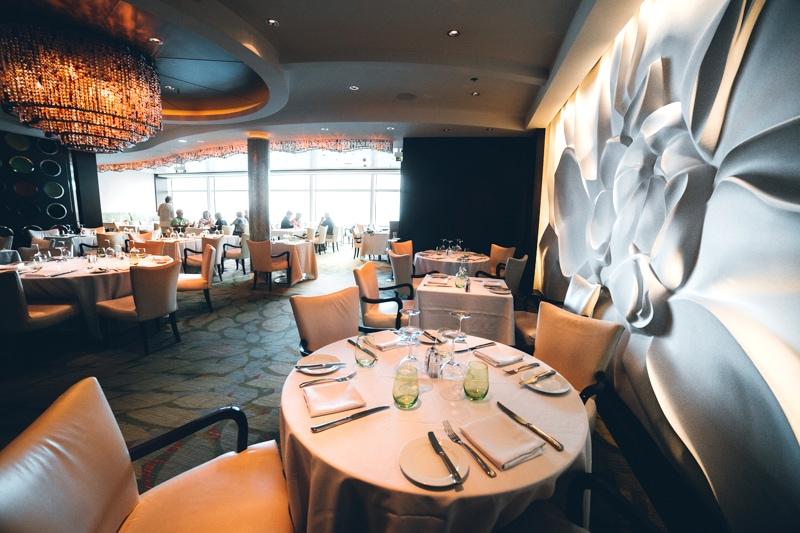 Celebrity Cruises Blu Restaurant