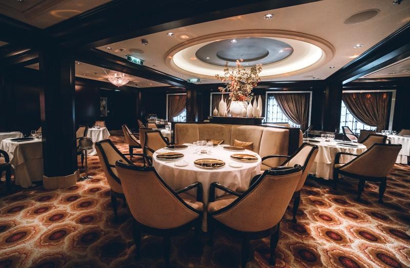 Celebrity Cruise Murano Restaurant