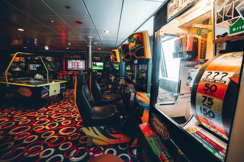 Celebrity Eclipse Arcade