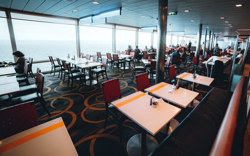 celebrity cruise oceanview cafe