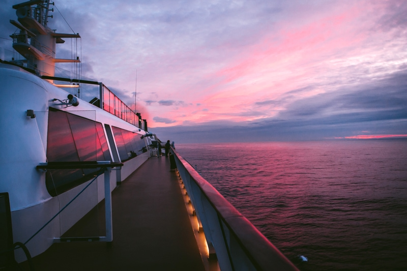 Celebrity Cruise Sunset
