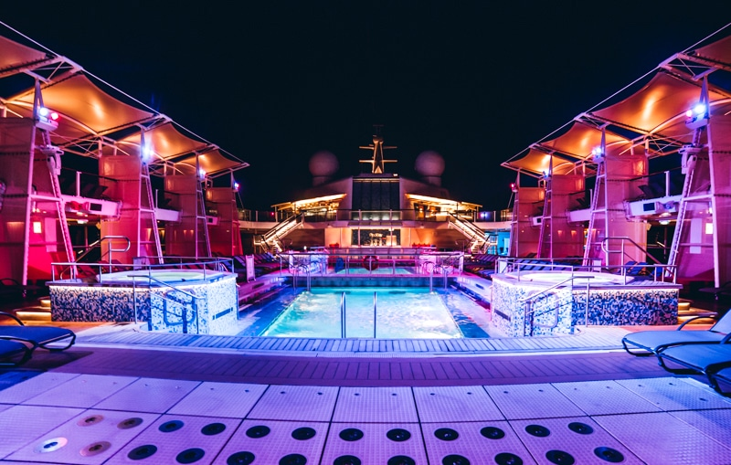 Celebrity Cruise Pool