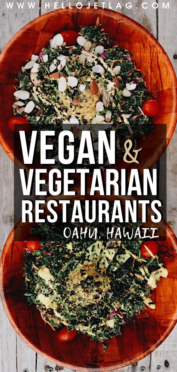 Oahu Vegan Restaurants
