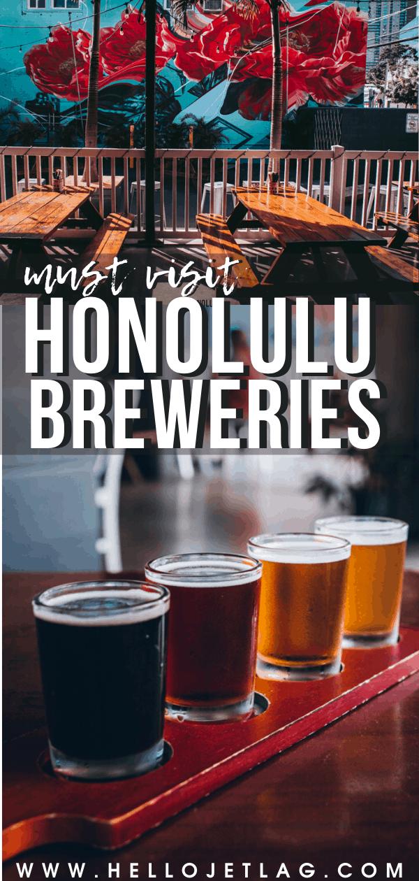 Honolulu Beer Tour
