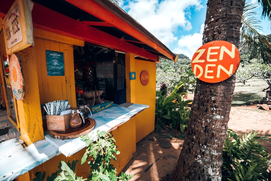 Oahu Sunrise Shack Zen Den