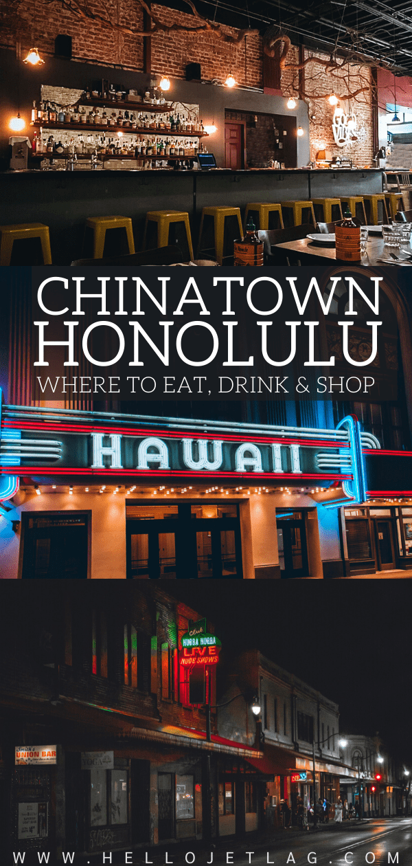 Chinatown Honolulu Restaurants & Bars